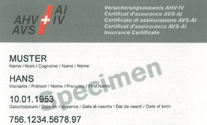 New social insurance card, 2008, source: Internet.